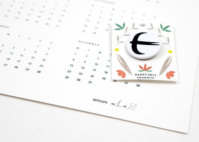 Calendar 2014 by Depeapa_05