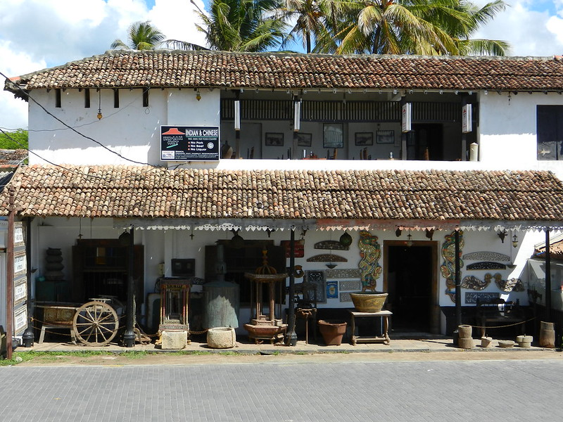 Шри Ланка, Галле, антикварный магазин
