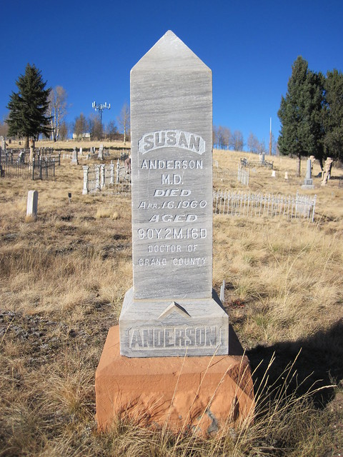 Picture from the Mt. Pisgah Cemetery in Cripple Creek, Colorado