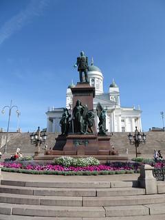Alexander II 헬싱키 근처 의 이미지. finland helsinki senatesquare alexanderii helsinkicathedral tzaralexanderii