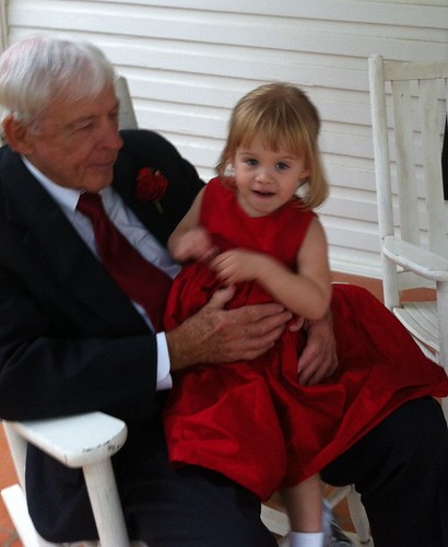 Pop-Pop & Lucy before the wedding