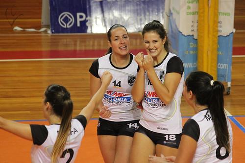Voleibol Feminino: Vitória SC 3-2 Académica São Mamede