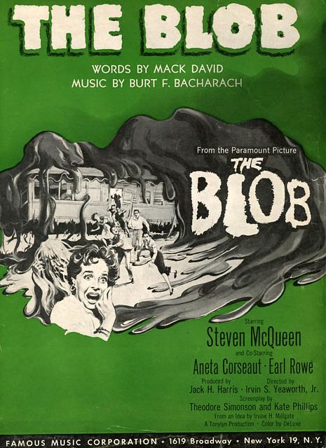 THE BLOB (1958) - Title song by Burt (F.) Bacharach & Hal David