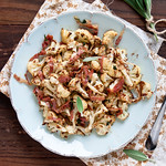 Roasted Cauliflower with Sage Brown Butter & Prosciutto