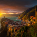 Sunset At Verranzo Cinque Terre by kevin mcneal