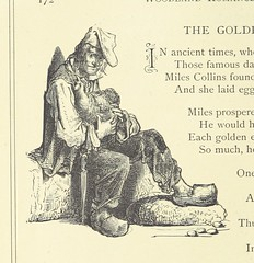 """British Library digitised image from page 176 of """"Woodland Romances; or, Fables and Fancies"""""""