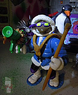 'ADVENTURERS' TEENAGE MUTANT NINJA TURTLES :: ARTIC DONATELLO ii (( 1995 ))