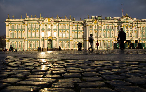 city travel architecture sunrise stpetersburg russia hermitage spb