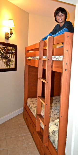 Blue Heron Beach Resort Orlando - Bunk Beds Bedroom