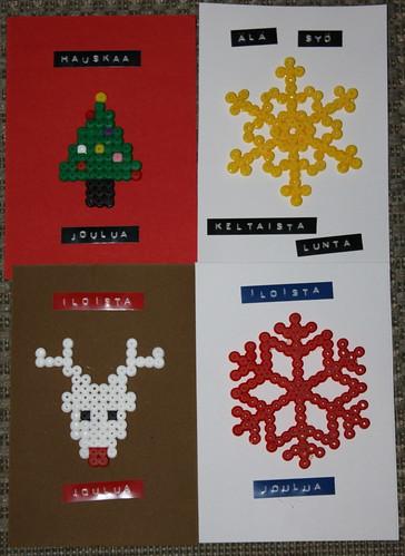 joulukortit 2013