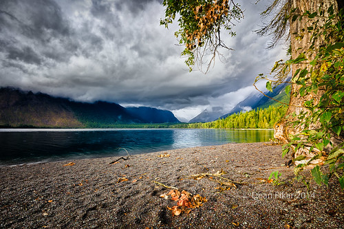 Lake McDonald on a Cloudy Day