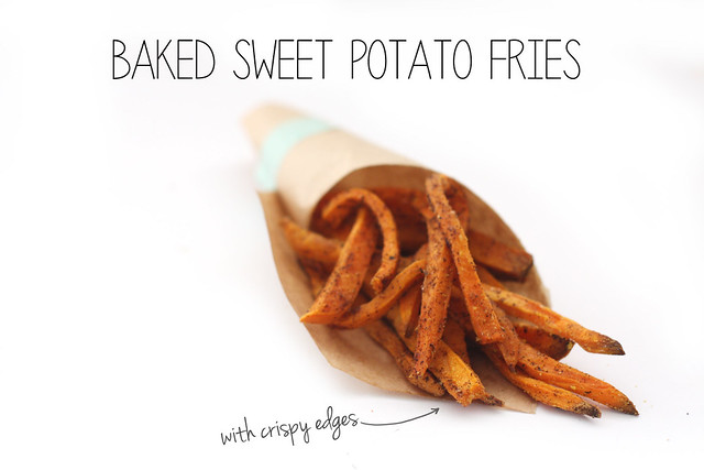Sweet Potato Fries With Crispy Edges