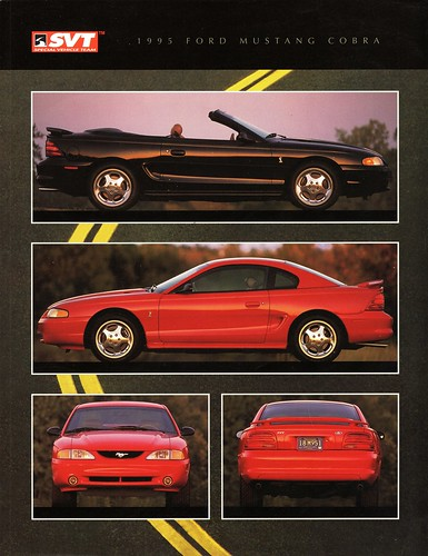 1995 Ford Mustang Cobra Coupe and Convertible