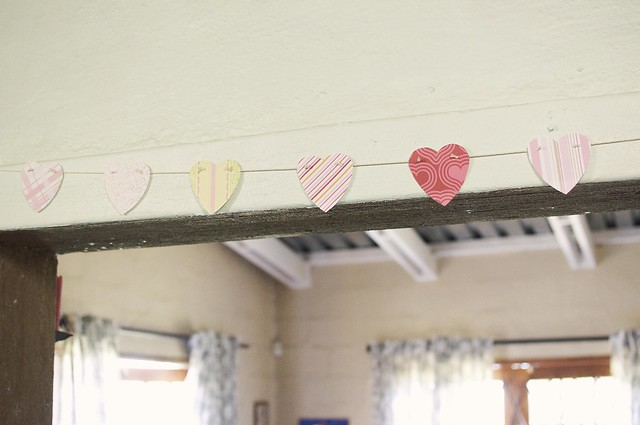 Valentine's Day bunting