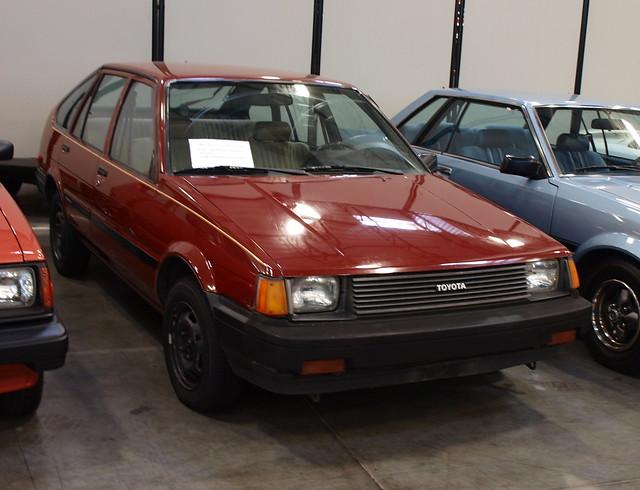 1985-85 Toyota Corolla Hatchbck