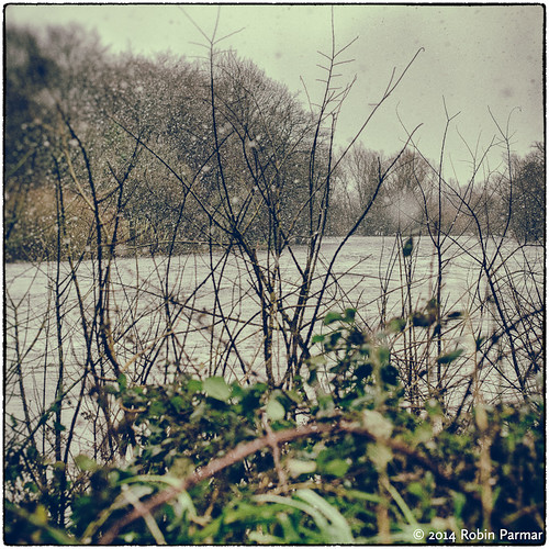 snow on the Shannon 1