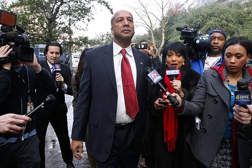 Former Mayor of New Orleans during the Katrina crisis, C. Ray Nagin, was convicted of 20 counts of fraud. He was accused of taking brides and tax evasion. by Pan-African News Wire File Photos
