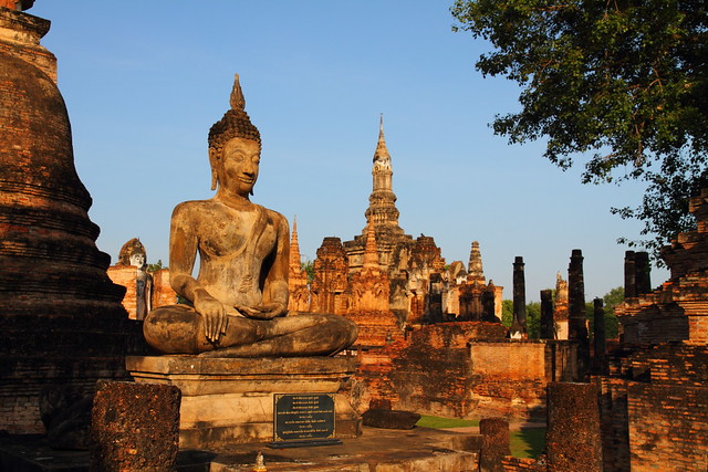 Wat Mahathat in Morning Light