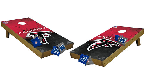 Atlanta Falcons Premium Cornhole Boards