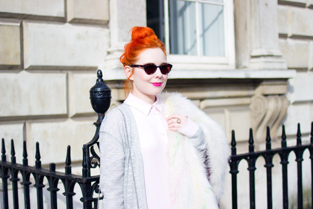 red hair street style London Fashion Week