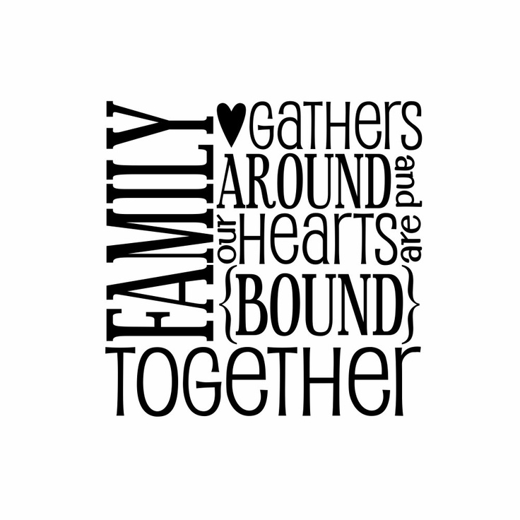 Family Hearts Bound Together