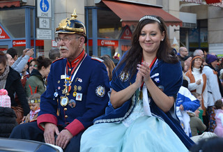 Fastnacht king and queen