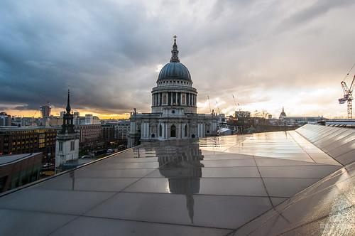 Un mirador gratuito en Londres, vistas desde el Centro Comercial One New Change