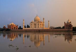 Otra vista del Taj Mahal.