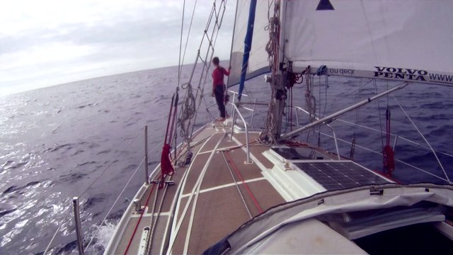 Laura Dekker aims to become the youngest person to sail around the world alone in MAIDENTRIP.