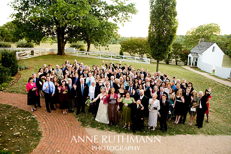 Large Group Wedding Photo 1