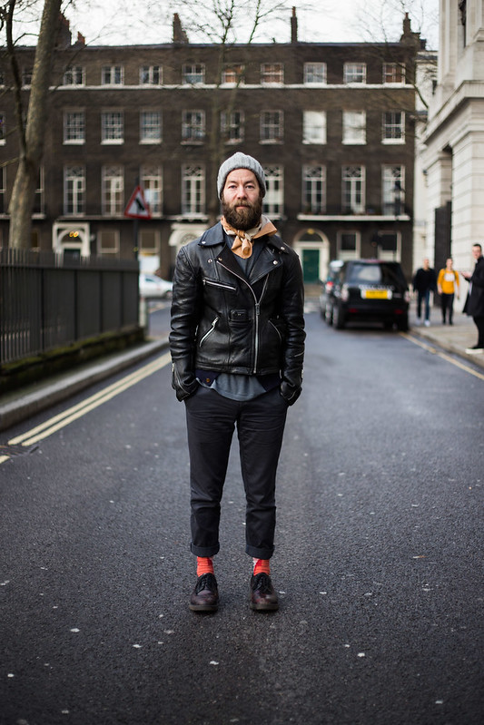 Street Style - Alistair, Bloomsbury Square