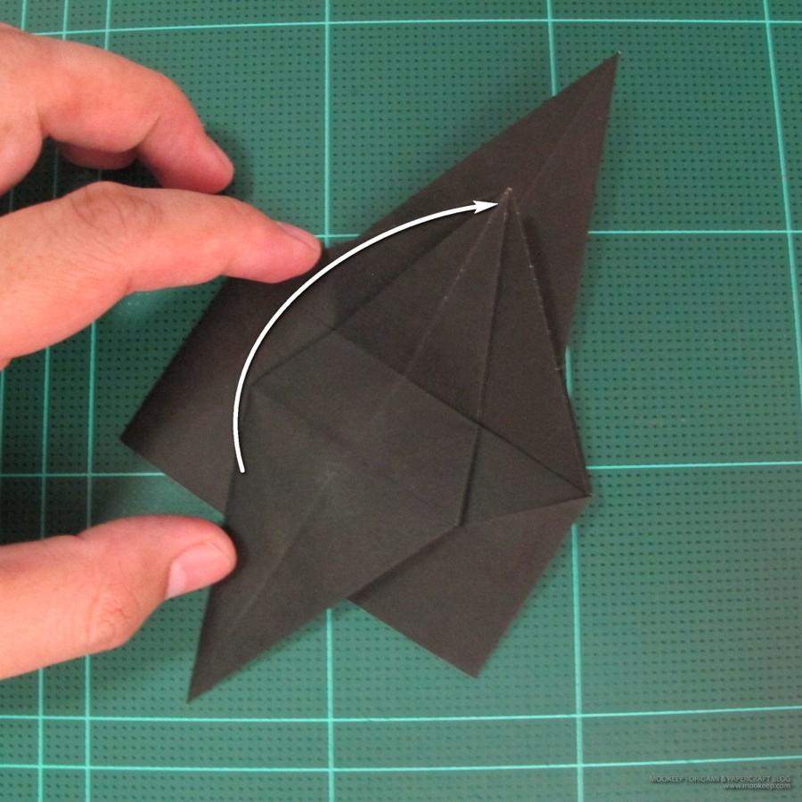 วิธีการพับกระดาษเป็นรูปจิงโจ้ (Origami Kangaroo) 006