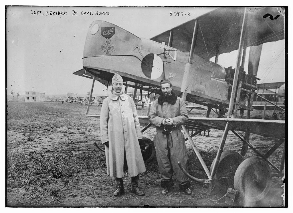 Capt. Berthaut and Capt. Hoppe (LOC)