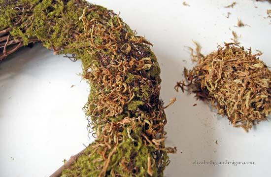 Spring Moss Wreath 6