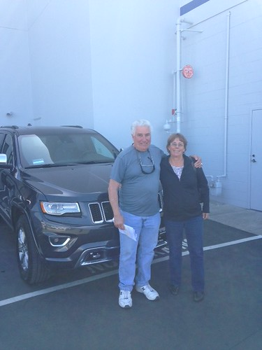 Thank you to Ivano Pellegrini of San Carlos, CA for getting his 2014 Jeep Grand Cherokee Overland from Aaron Eichenbaum here at Putnam Chrysler Jeep Dodge RAM in Burlingame, CA.