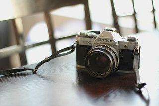My lovely Canon AE-1