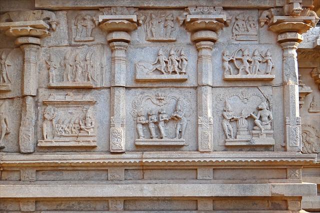 Templo de Hazara Rama. Hampi. India.
