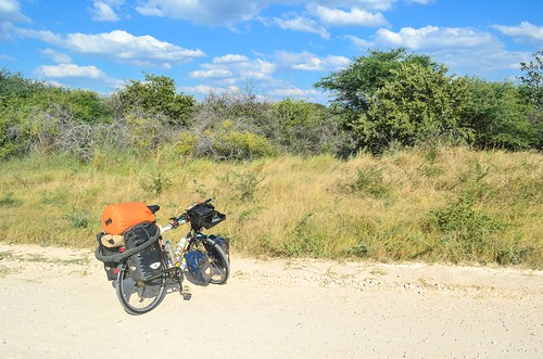 Road from Tsumeb to Grootfontein