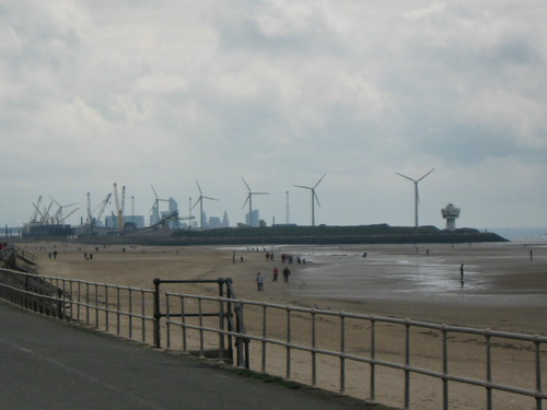 From Crosby looking to Bootle