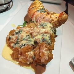 Lobster tempura en San Antonio. Werner's, the culinary experts prime steak and seafood.