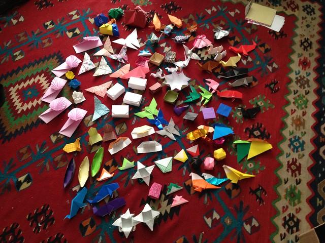 Garden of origami