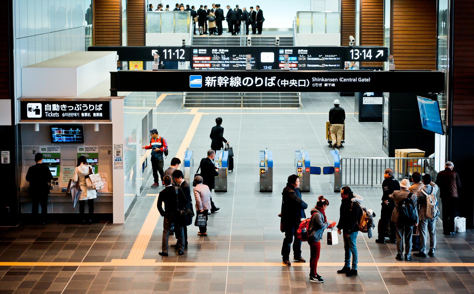 JR富山駅
