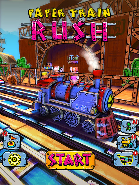 Download Free Game Paper Train Rush Hack (All Versions) Unlimited Coins,Unlimited Tickets 100% Working and Tested for IOS and Android
