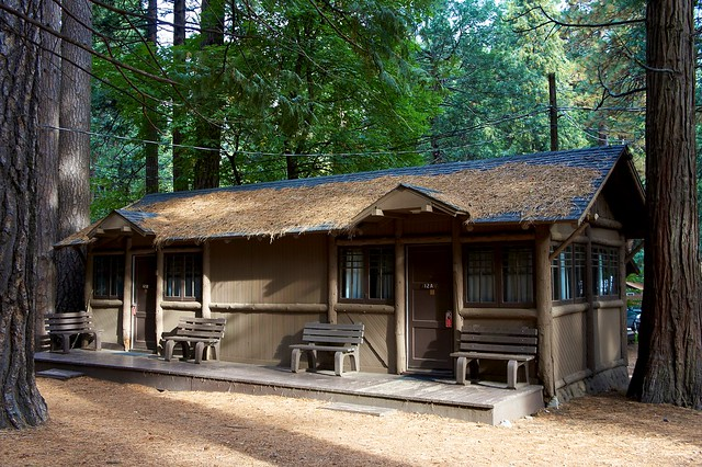 Dsc00472 curry village cabin flickr photo sharing for Curry village cabins yosemite