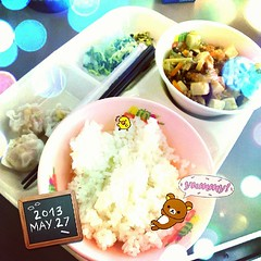ekiben(0.0), bento(0.0), meal(1.0), lunch(1.0), steamed rice(1.0), food(1.0), dish(1.0), cuisine(1.0), asian food(1.0),