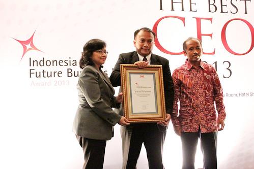 The Indonesia Future Business Leader 2013: Andi Hazairin Soekamto.