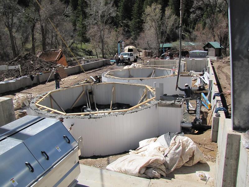 Hatchery Tank Construction