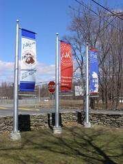 banner, signage, sign, advertising,