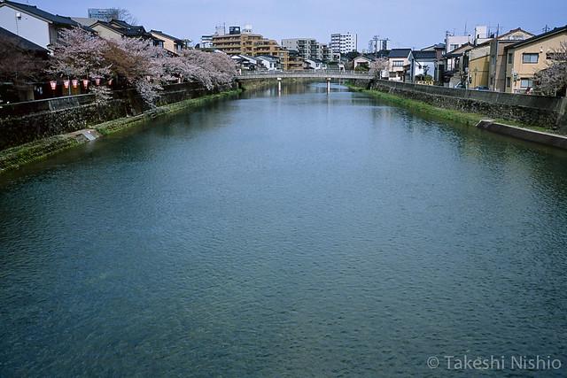 中の橋改修工事前 /  Before renovation, Nakanohashi bridge
