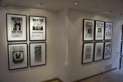 Harry Potter artworks at the Conningsby Gallery